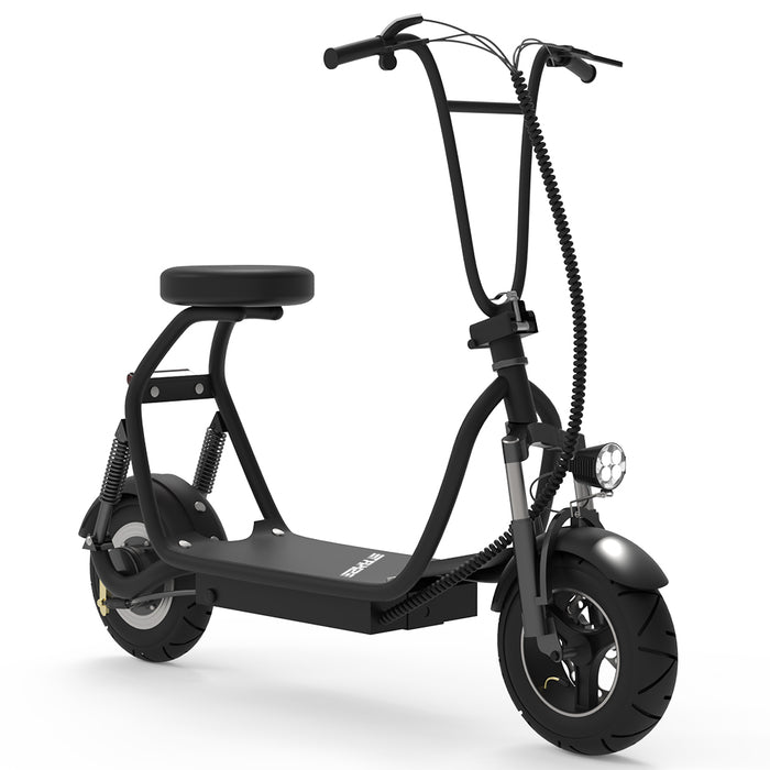 Adult Electric Scooter Up to 18 MPH Commuter Scooter-18.6 Miles Long-Range Battery-black