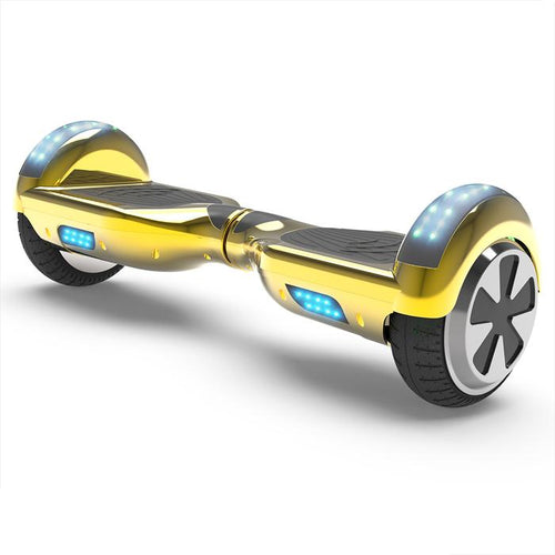 6.5'' Two Wheel Electric Hoverboard With Bluetooth-Chrome Gold