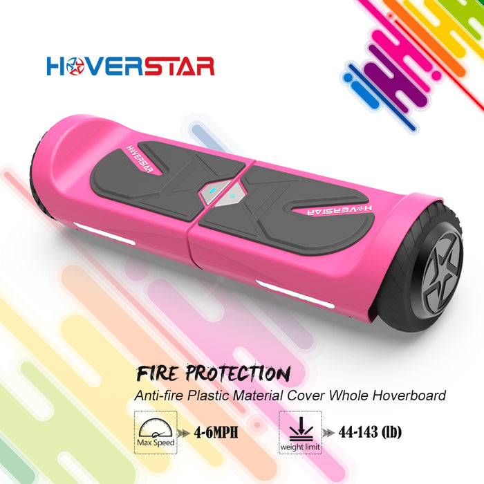 "4.5"" Hoverboard Two-Wheel Self Balance Electric Scooter for Kids UL2272 Listed-Pink"