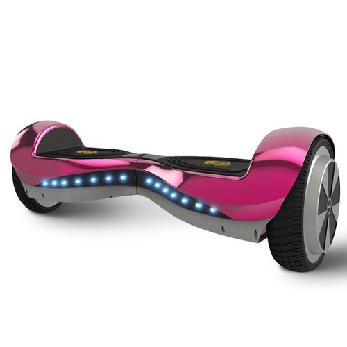 HOT SALE 6.5 Inch Electric Pink Bluetooth Chrome Hoverboard