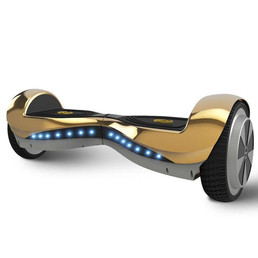 6.5' Hoverboard Chrome Gold for Kids with Bluetooth