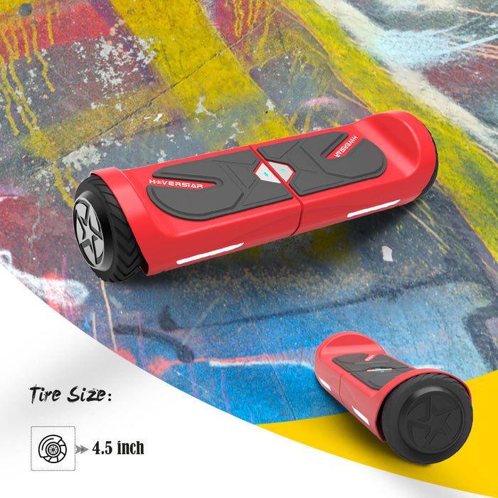 "4.5"" Hoverboard Two-Wheel Self Balance Electric Scooter for Kids UL2272 Listed-RED"