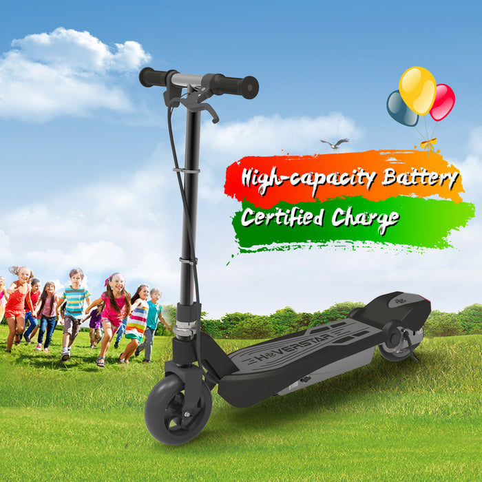 Electric Scooter for Kids-Black