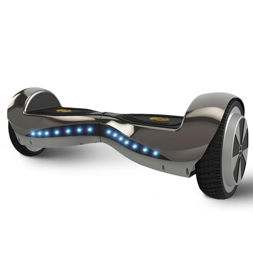 6.5' Electric Black Hoverboard with Bluetooth for Sale