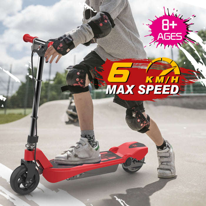 Electric Scooter for Kids-Red