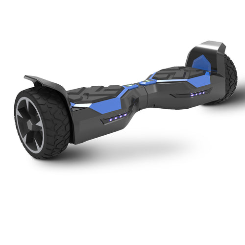 8.5'' Off Road Blue Hoverboard- Bluetooth Speaker and LED Lights (UL2272 Certified)