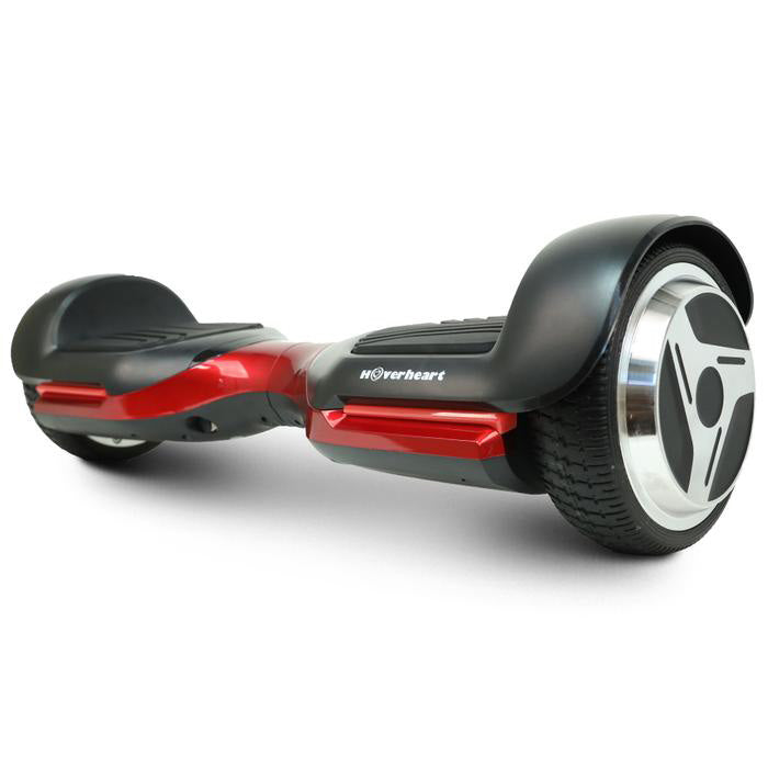 "6.5"" UL 2272 Listed Self Balancing Wheel Electric Scooter With Bluetooth / Red"