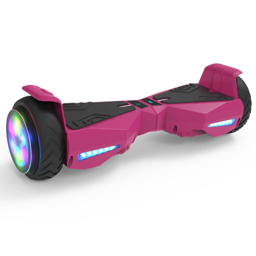 "Hoverboard 6.5"" UL 2272 Listed Electric Scooter with LED wheel  / Pink"