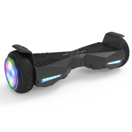 Hoverheart H-Warrior Hoverboard with LED Wheel | Black