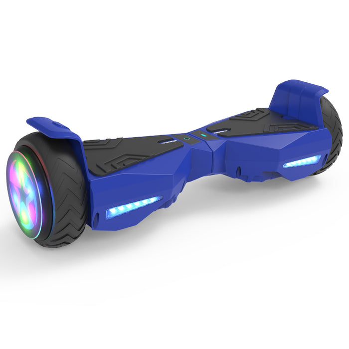 Hoverheart H-Warrior Hoverboard with LED Wheel | Blue
