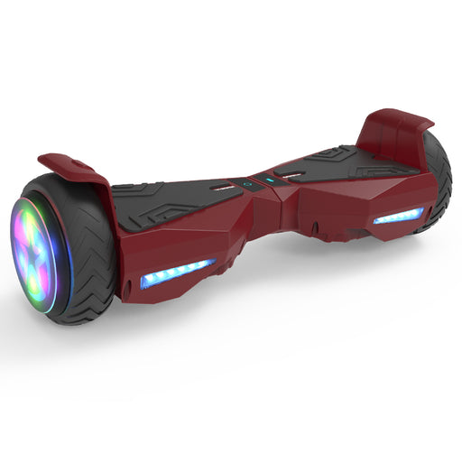 Hoverheart H-Warrior Hoverboard with LED Wheel | Red