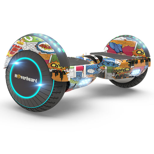 "Prime Kids Print Coating Super Hero 6.5"" Bluetooth Hoverboard with LED Lights-UL Certified"