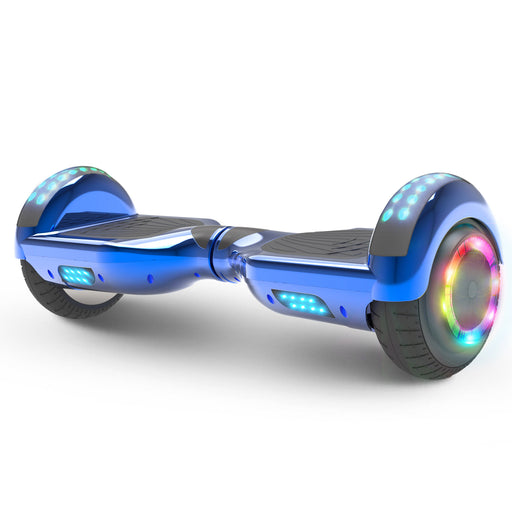 Hoverheart H-Star 6.5'' Self Balancing Hoverboard | Chrome Blue