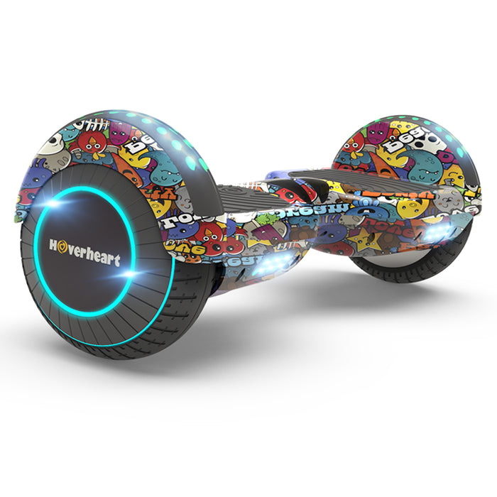 "Hot 6.5"" Print Monster Party Hoverboard- UL 2272 Certified"