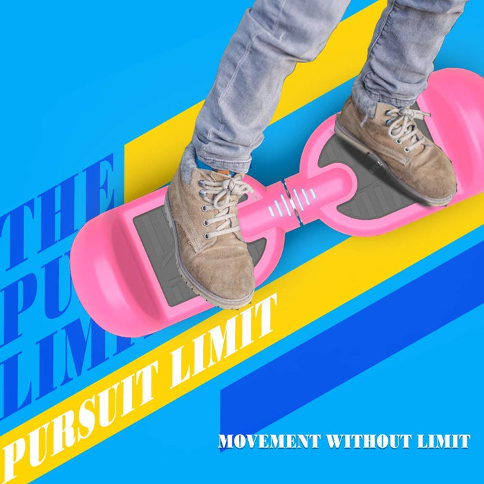 "2019 New Model - Hoverheart H-Star 6.5"" LED Flash Wheel Hoverboard 