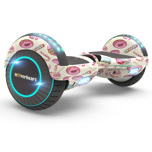"New 6.5"" Candyland Print Coating Hoverboard for Kids- UL Certified Safe 2018"