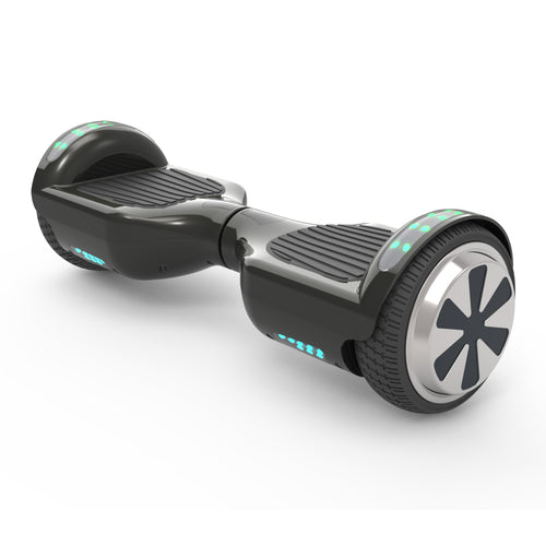 "6.5"" UL Certified Safe Bluetooth Hoverboard-Black"