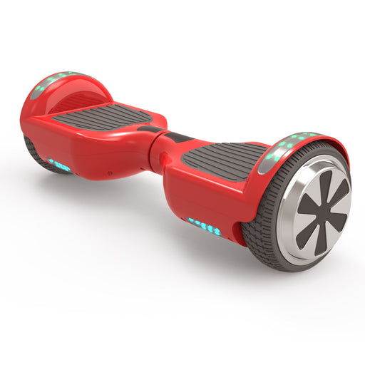"New 6.5"" UL Certified Safe Bluetooth Hoverboard -Red"