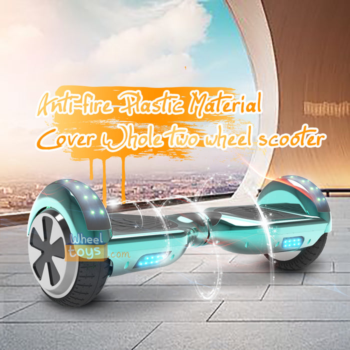 6.5'' Two Wheel Electric Hoverboard With Bluetooth-Chrome