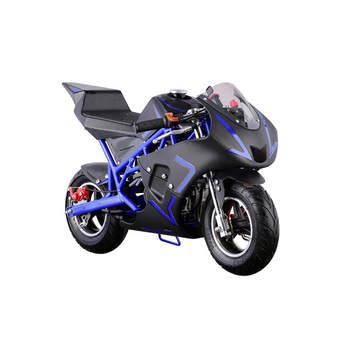 Mini Gas Power Pocket Bike, Ninja Motorcycle Ride-on 40CC 4-Stroke