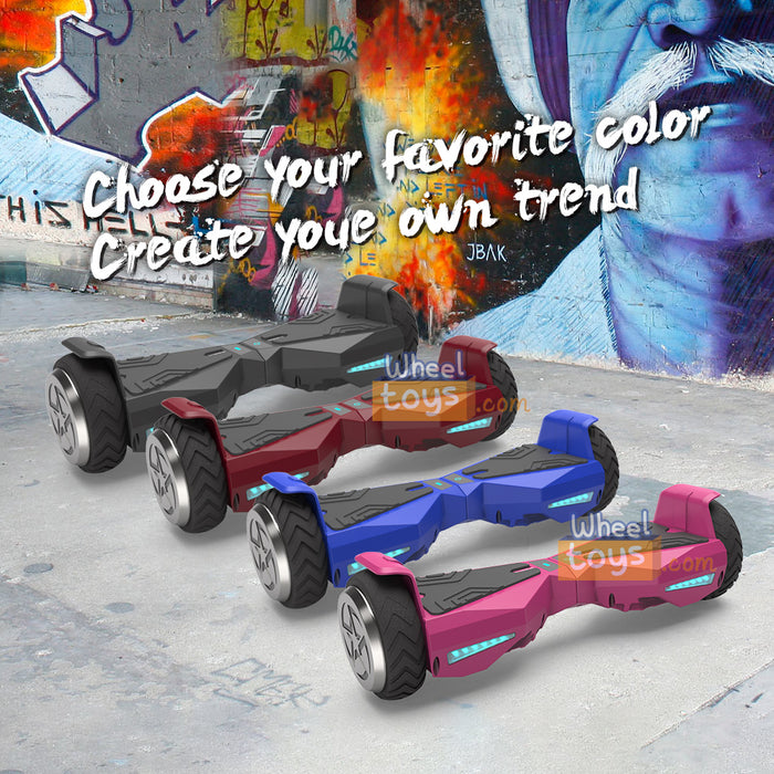 "Hoverboard 6.5"" UL 2272 Listed Wheel Electric Scooter  / Pink"