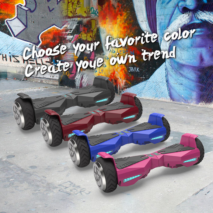"Hoverboard 6.5"" UL 2272 Listed Self Balancing Wheel Electric Scooter  / Black"