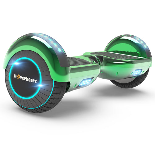 "Prime Kids Green 6.5"" Bluetooth Hoverboard with LED Lights-UL Certified"