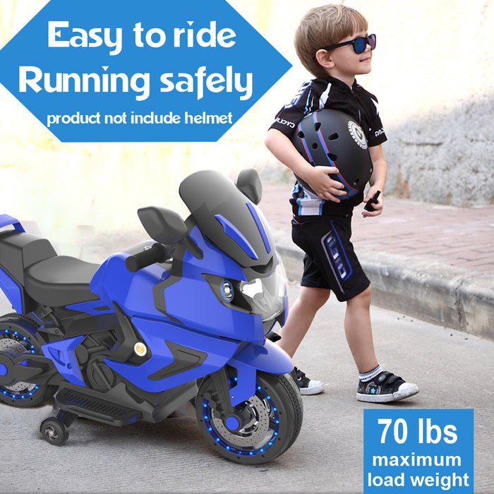 HoverHeart Blaze Electric 6V Motorcycle With Training