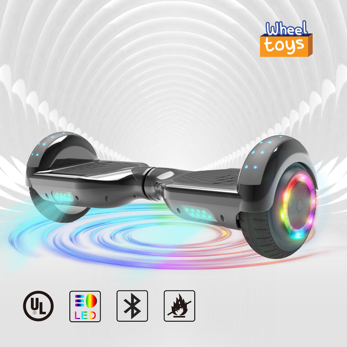 Hoverheart H-Star 6.5'' Self Balancing Hoverboard | Chrome Black