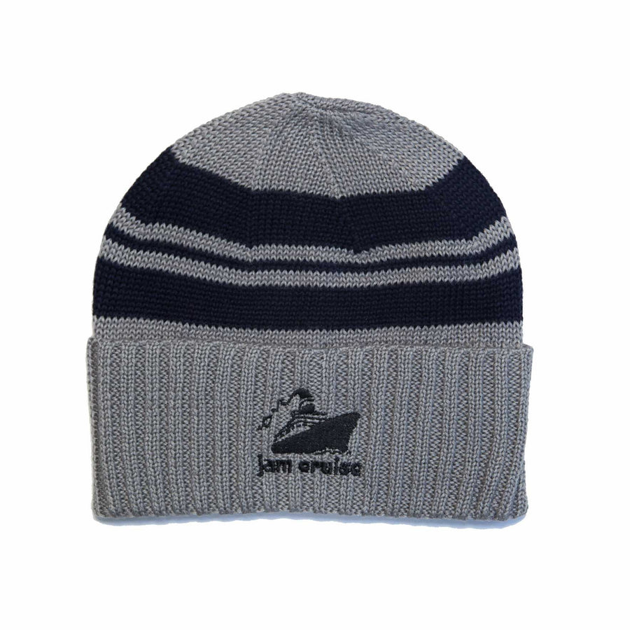 JAM CRUISE BEANIE (GRAY AND BLUE)