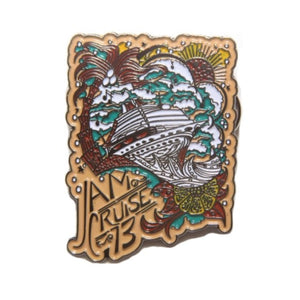 JAM CRUISE JEFF WOOD SHIP PIN