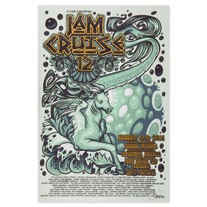 JAM CRUISE 12 SEAHORSE POSTER