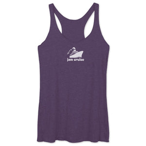 JAM CRUISE LADIES RACERBACK TANK - PURPLE