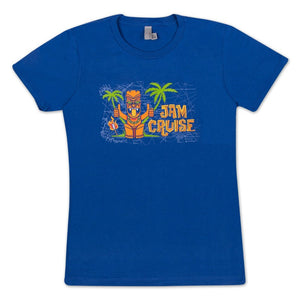 JAM CRUISE WOMEN'S TIKI T-SHIRT