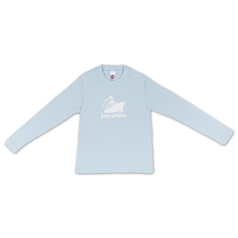 JAM CRUISE KIDS LOGO T-SHIRT (LIGHT BLUE)