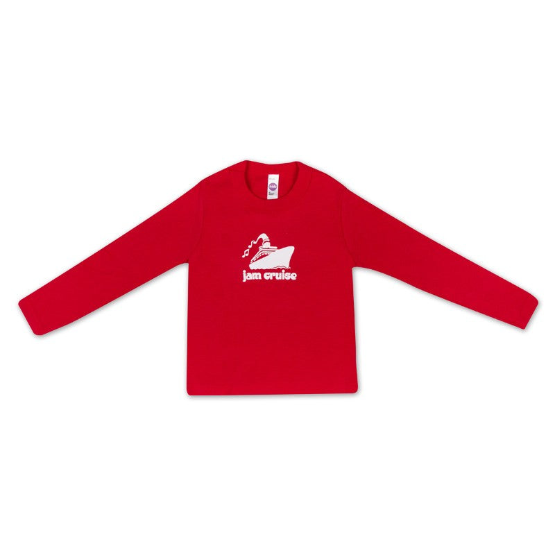 JAM CRUISE KIDS LOGO T-SHIRT (RED)