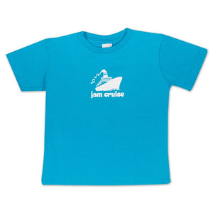 JAM CRUISE KIDS LOGO T-SHIRT (BLUE)