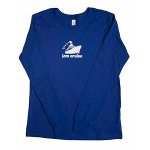 YOUTH LOGO LS (ROYAL BLUE)