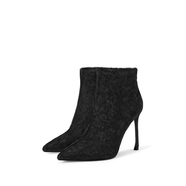 Ankle Boots For Women Pointed Toe Side Zipper Boots