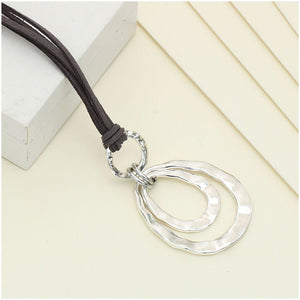 2 Layer Retro Long Necklace