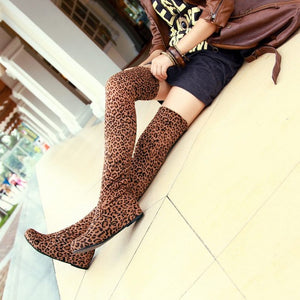 Woman New Fashion Over The Knee Boots