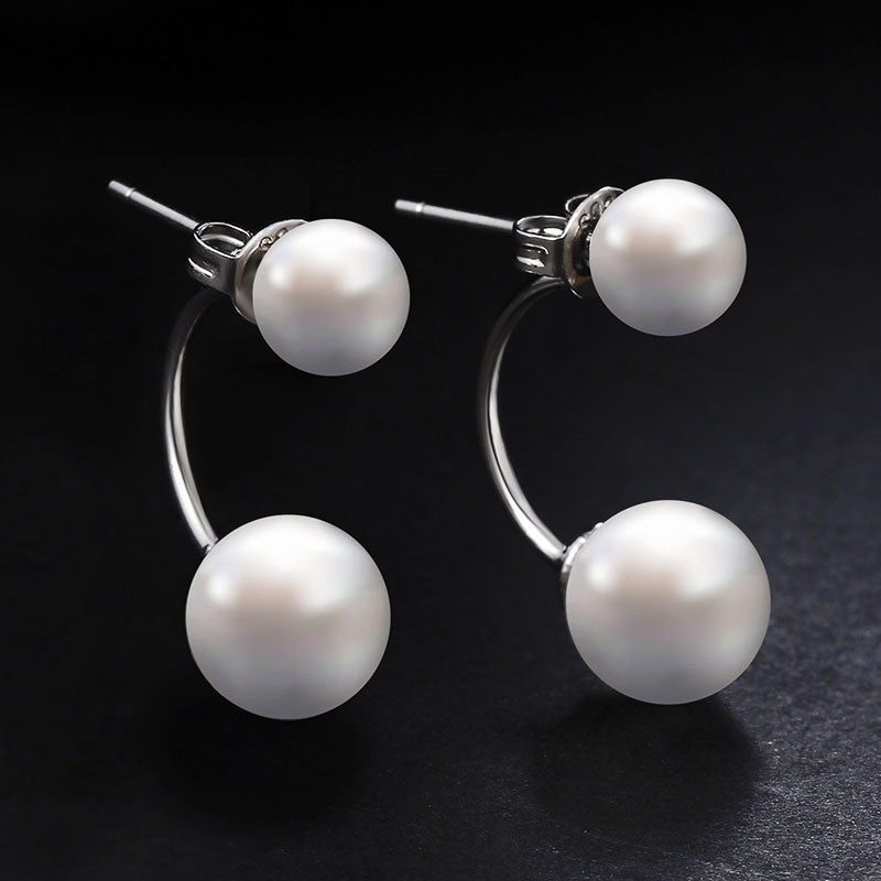 Crystal Ball Stud Women Earrings