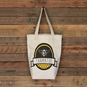 Farmers Market Tote - Bee Thankful