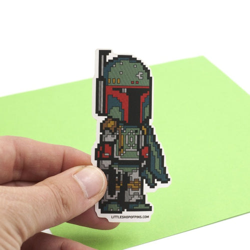 Bounty Hunter Vinyl Sticker