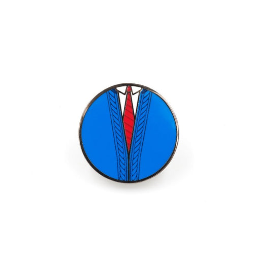 Mister Rogers' Neighborhood Blue Sweater Enamel Pin