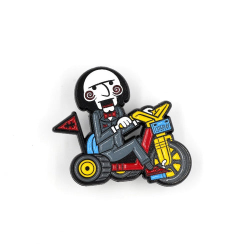 Let's Play Enamel Pin
