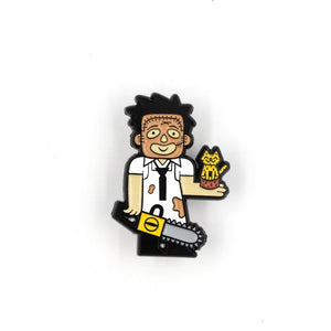 Leatherface Enamel Pin