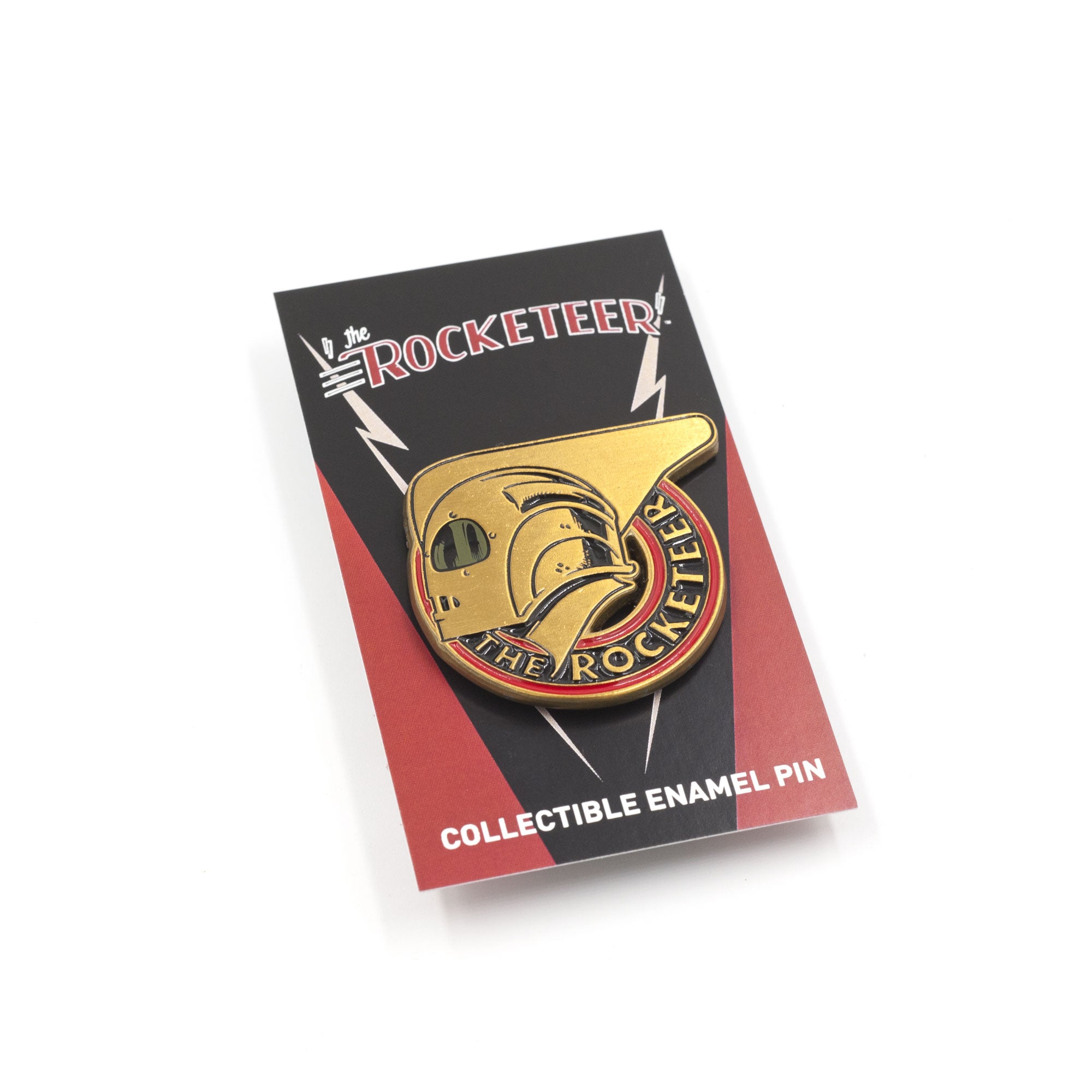 The Rocketeer Badge Pin