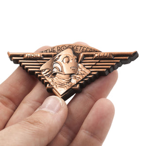 The Rocketeer Thrill Club 3D Pin
