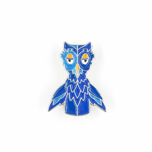 X The Owl Enamel Pin